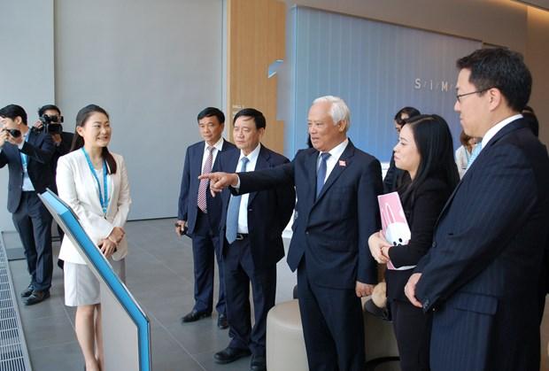越南国会副主席汪周刘访问韩国 hinh anh 3