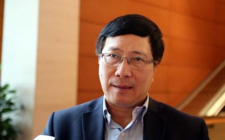 越南政府副总理兼外长范平明即将访问印度并出席东盟—印度对话会 hinh anh 1