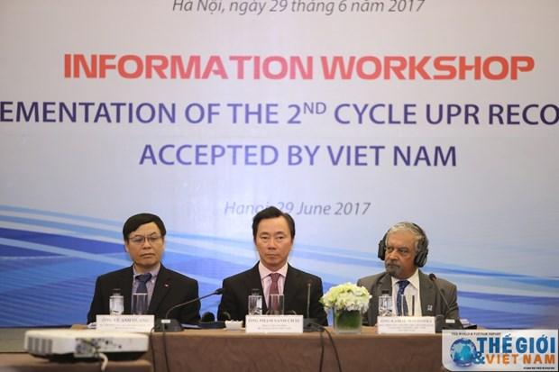 越南积极参与有关促进和保护人权的机制 hinh anh 1
