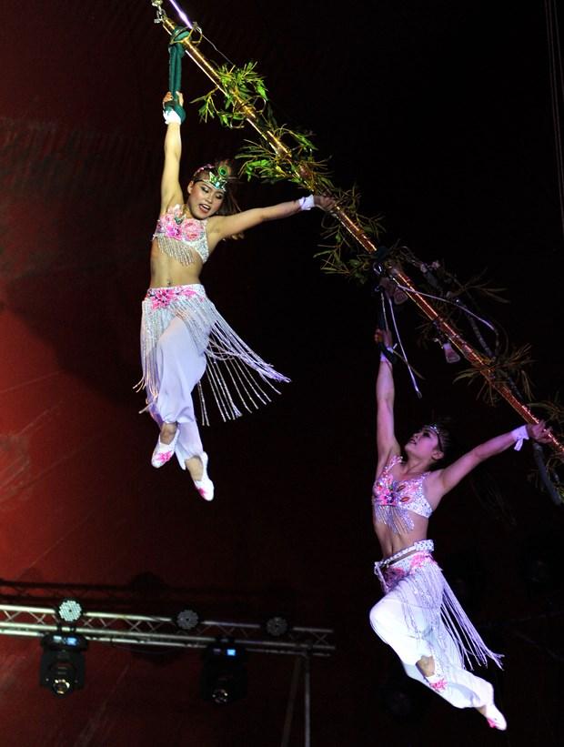 越南杂技团在古巴国际夏季杂技节获金奖 hinh anh 2
