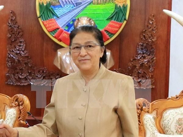 老挝国会主席巴妮•雅陶都即将访越并出席庆祝越老建交55周年系列活动 hinh anh 1
