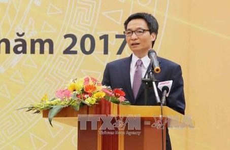 政府副总理武德儋:加大宣传力度 提高公众对结核病的防治意识 hinh anh 1