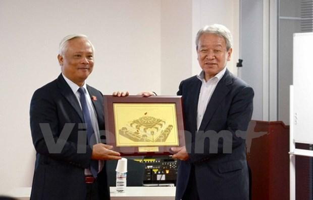 越南国会副主席汪周刘访日 hinh anh 1