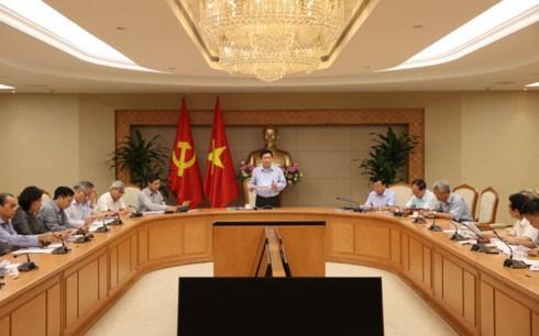 政府副总理王廷惠:应继续密切关注宏观经济动态 hinh anh 1