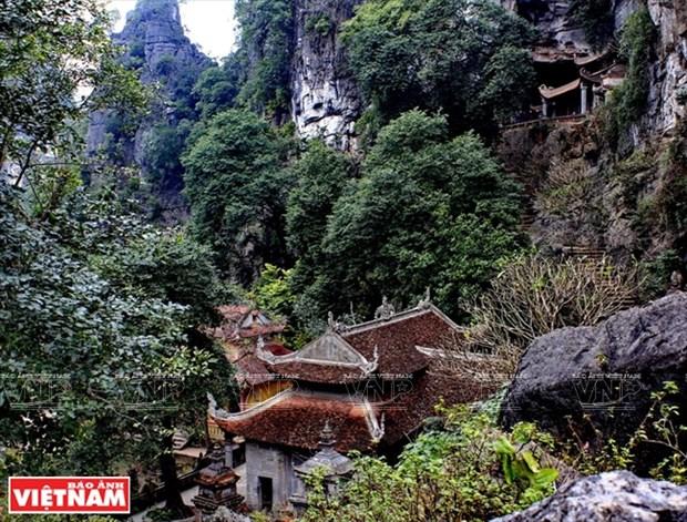 宁平省长安世界遗产中的古寺 hinh anh 2