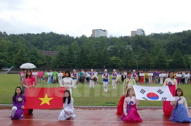 第九届ICFood杯越南大学生足球比赛在韩国国立忠南大学举行 hinh anh 1