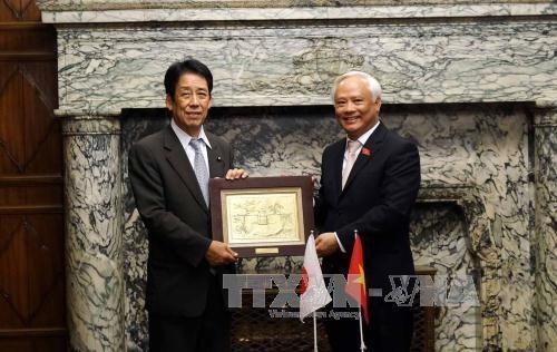 国会副主席汪周刘会见日本国会众议院议长和参议院副议长举行会谈 hinh anh 3