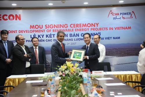 越南与沙特阿拉伯企业合作开展可再生能源项目 hinh anh 1
