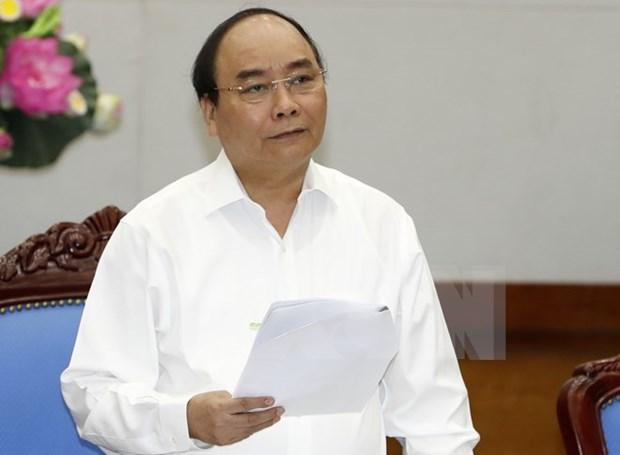 阮春福总理:早日公布中部环境安全状况 让民众安心生活放心生产 hinh anh 1