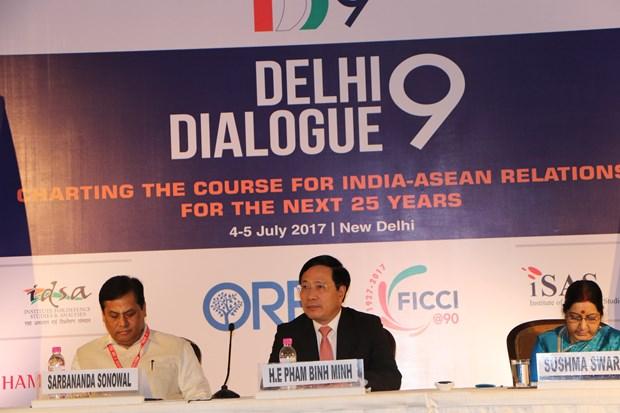 越南参加第九届东盟与印度对话会 hinh anh 1