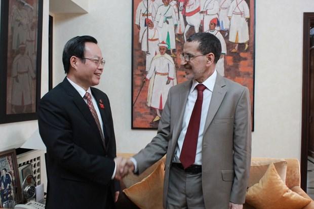 越南国会副主席冯国显访问摩洛哥 hinh anh 2