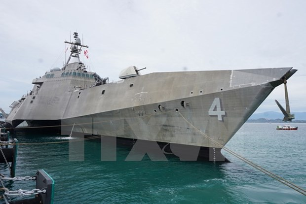 越美海军举行第八次交流活动 hinh anh 2