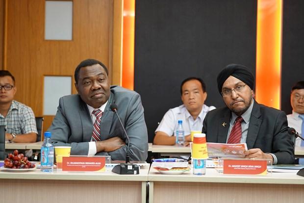 国际民用航空组织理事会主席对越捷航空公司的活动表示印象深刻 hinh anh 1