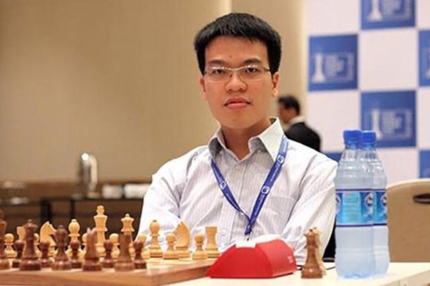 2017年世界国象公开赛:黎光廉居第二位 hinh anh 1