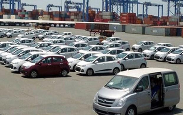 2017年上半年越南汽车进口额达逾10.54亿美元 hinh anh 1