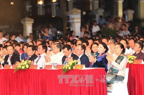 越老边境地区文化体育与旅游交流活动正式开幕 hinh anh 2