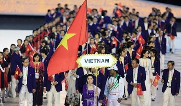 近700人组成的越南体育代表团将参加第29届东南亚运动会 hinh anh 1