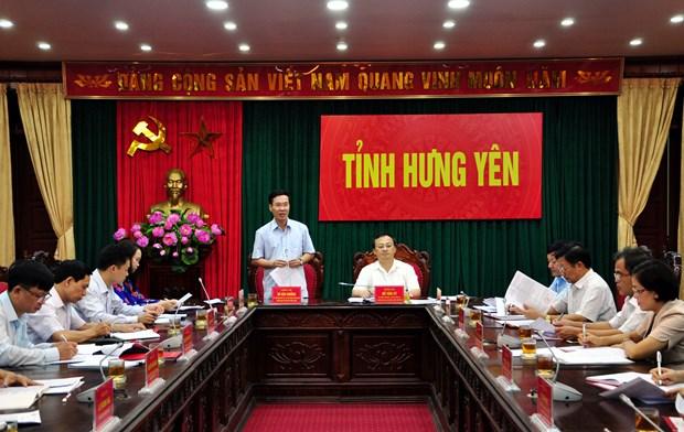 越共中央书记处对十二届四中全会决议与政治局5号指示执行情况展开专项检查 hinh anh 1