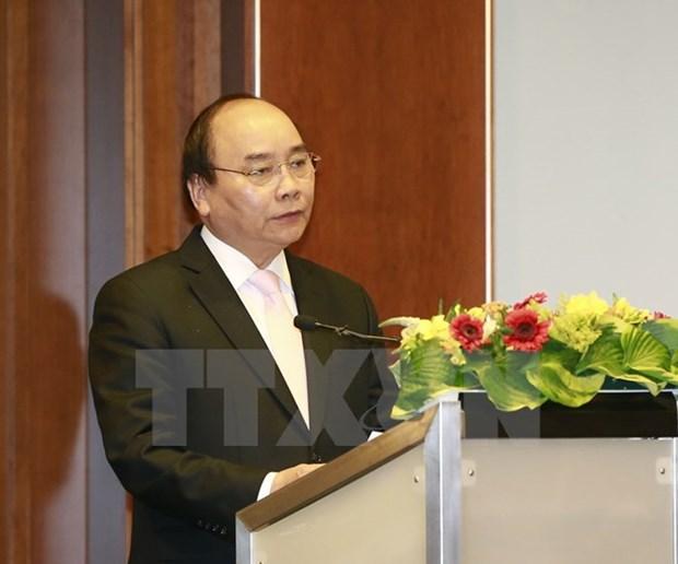 越南政府总理阮春福:越南将迎来新一波德国企业投资浪潮 hinh anh 1