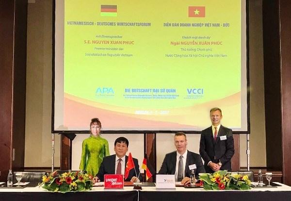 越捷与德国GOAL集团签署飞机融资租赁协议 hinh anh 1