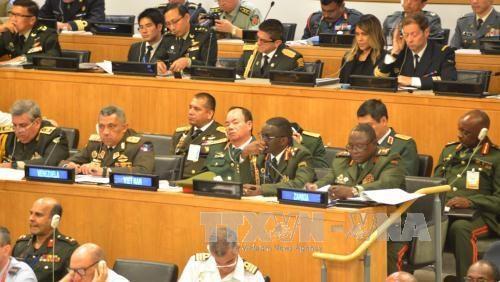 越南出席联合国维和国防军司令会议 hinh anh 2