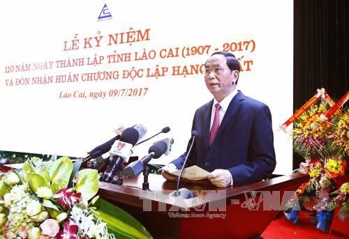陈大光:老街省需力争成为西北地区的发达省份 hinh anh 1