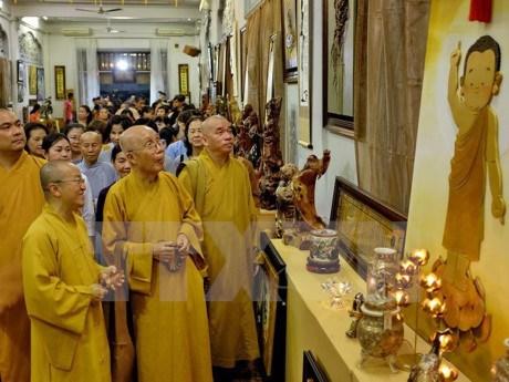 40多个国家和地区参加在胡志明市举行的文化和宗教学术研讨会 hinh anh 1