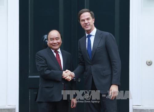 越荷发表联合声明 支持和平解决东海争端的观点 hinh anh 1