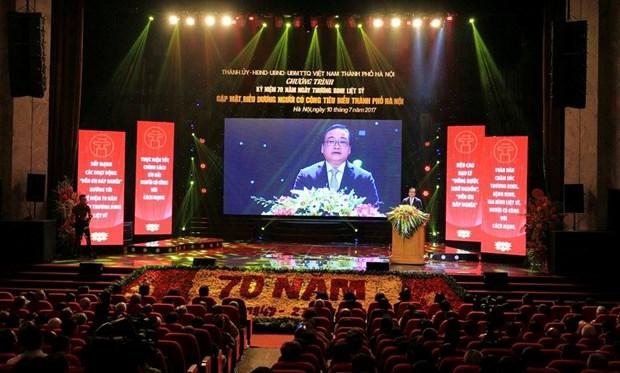 越南将举行多项活动纪念伤残军人与烈士日70周年 hinh anh 2