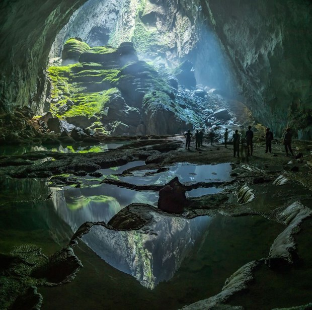山洞窟美照获得美国《国家地理》杂志摄影大赛提名 hinh anh 1