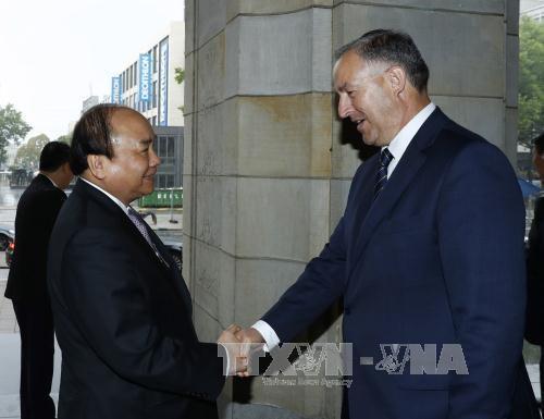 政府总理阮春福:越南重视促进与荷兰的全面合作 鼓励两国各地方加强合作 hinh anh 1
