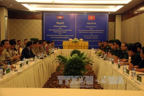 越南与柬埔寨加强合作 确保边境地区安全 hinh anh 2