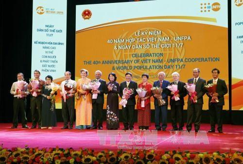 越南计划生育工作成果得到联合国的高度评价 hinh anh 1