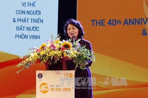 越南计划生育工作成果得到联合国的高度评价 hinh anh 2