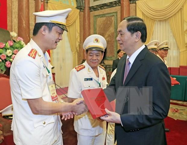 陈大光主席:集中建设有本事、绝对终于党、祖国和人民的人民警察力量 hinh anh 1