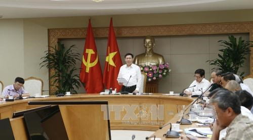 王廷惠副总理:国有企业股份制改造和撤资工作有积极变化 hinh anh 1