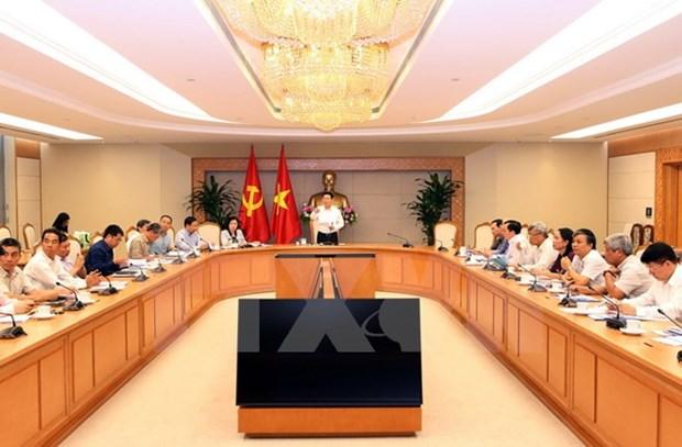 政府副总理王廷惠:消除不必要的海关审批事项 为企业创造便利条件 hinh anh 1