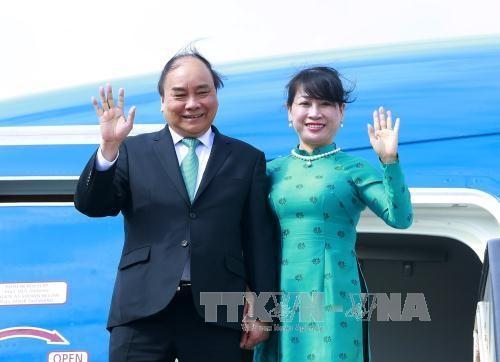 政府总理阮春福圆满结束对荷兰进行的正式工作访问 hinh anh 1