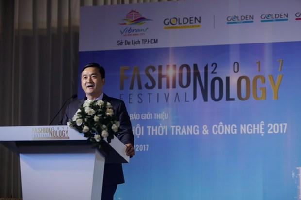 首届时尚科技节即将在胡志明市举行 hinh anh 1