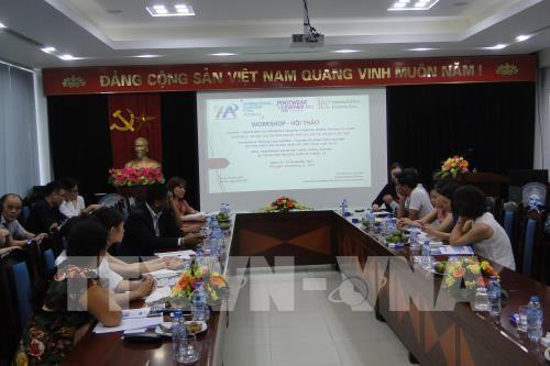 澳大利亚是越南皮鞋和纺织品服装的潜在市场 hinh anh 1