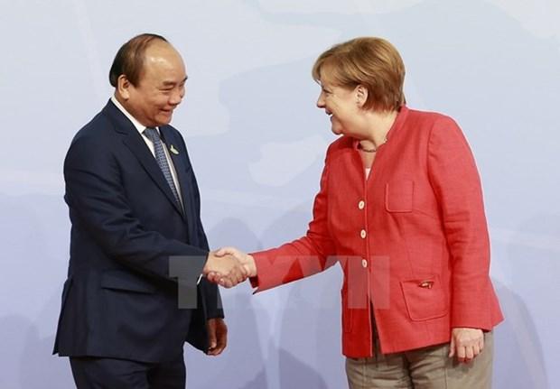 阮春福总理圆满结束对德国、荷兰的正式工作访问和出席G20领导人汉堡峰会 hinh anh 1