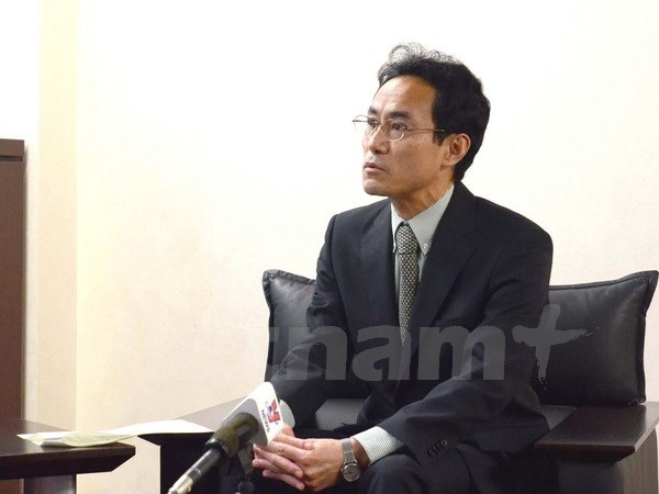 日本高度评价越南为2017年APEC会议所做出的努力 hinh anh 1