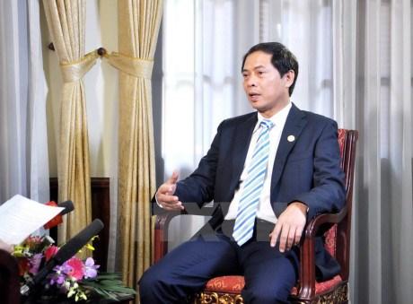 越副外长裴青山:阮春福总理对德国与荷兰的访问之旅在所有领域均取得成效 hinh anh 1
