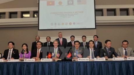 越南各地方领导代表团赴弗吉尼亚州寻找合作机会 hinh anh 1