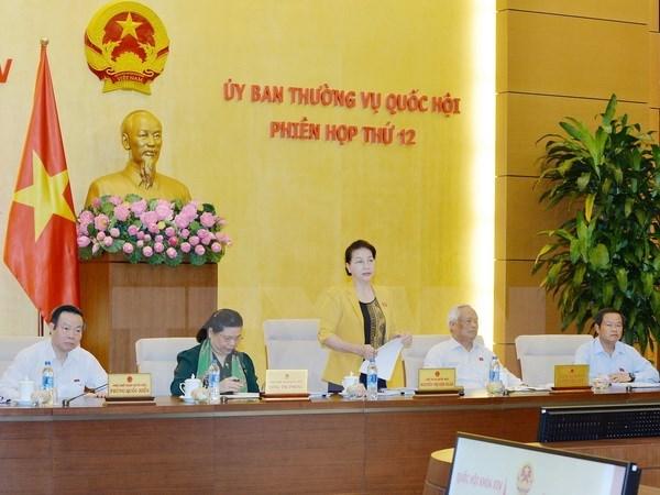 越南第十四届国会常务委员会第十二次会议落幕 hinh anh 1