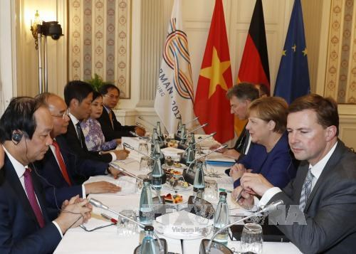 越副外长裴青山:阮春福总理对德国与荷兰的访问之旅在所有领域均取得成效 hinh anh 2