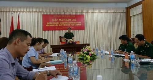 越老建交55周年:2017年首届越老边境友好交流会举行在即 hinh anh 1