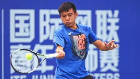 2017年中国男网F12未来赛:李黄南晋级男双半决赛 hinh anh 1