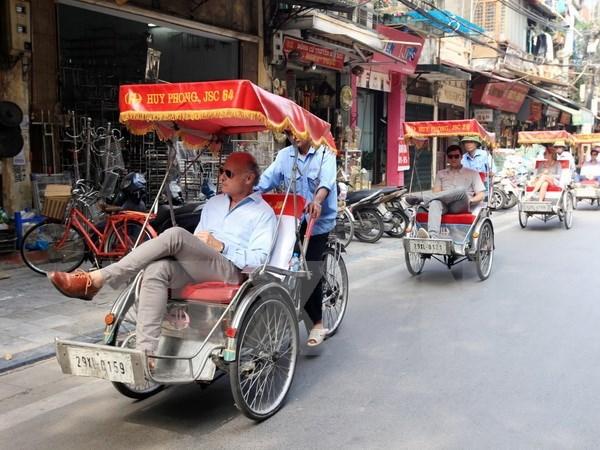 年初以来河内市接待游客量1200万人次 hinh anh 1