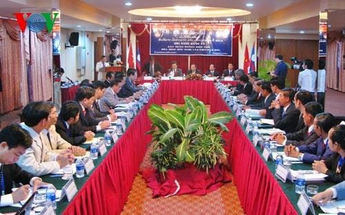 关于越老边界线建设的国际会议在广平省举行 hinh anh 1